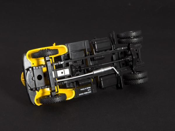 Macheta auto camion cap tractor Zis-MMZ-164AN, scara 1:43 5