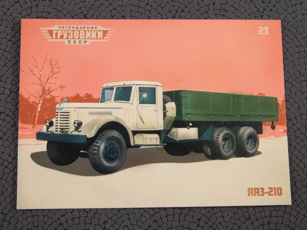 Macheta camion YAAZ 210, scara 1:43 8