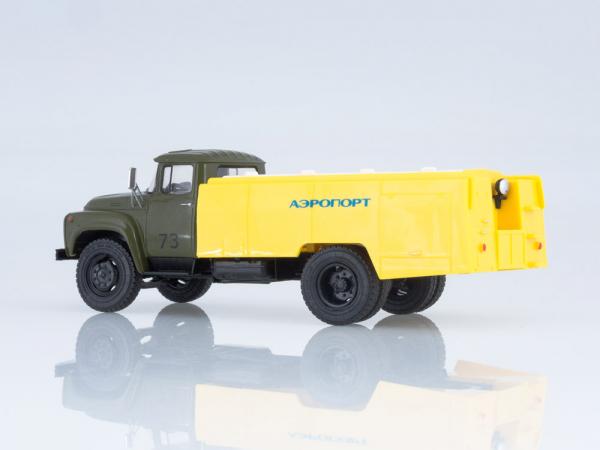 Macheta auto cisterna pentru avioane AC-161 (Zil 130), scara 1:43 1