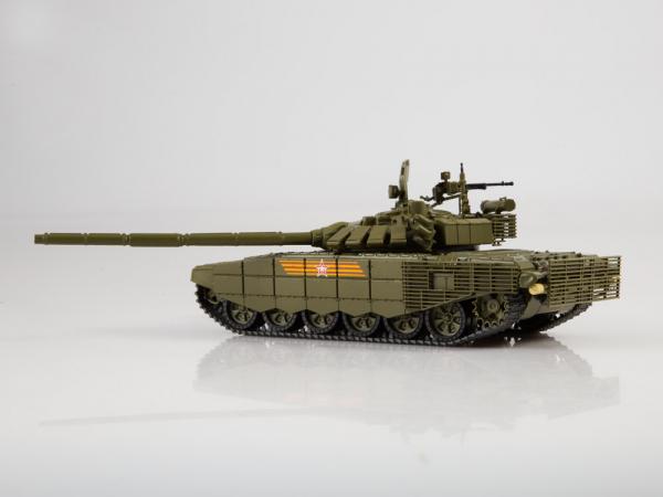 Macheta tanc rusesc T-72B3 2016, scara 1:43 1
