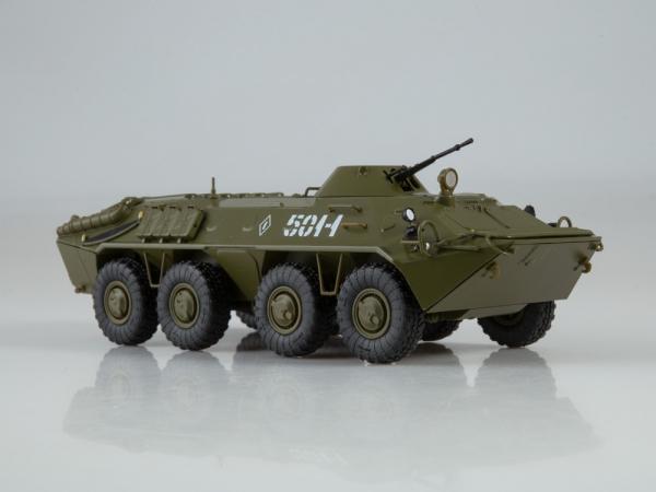 Macheta transportor blindat rusesc BTR-70, scara 1:43 1