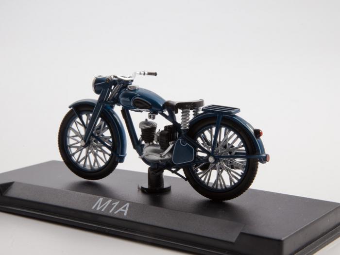 Macheta motocicleta ruseasca M-1-A Moskva, scara 1:24 [1]