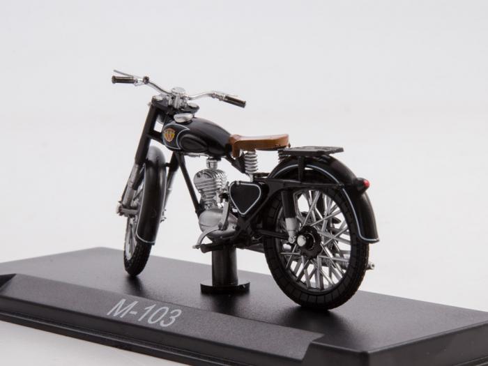 Macheta motocicleta ruseasca M-103, scara 1:24 [1]