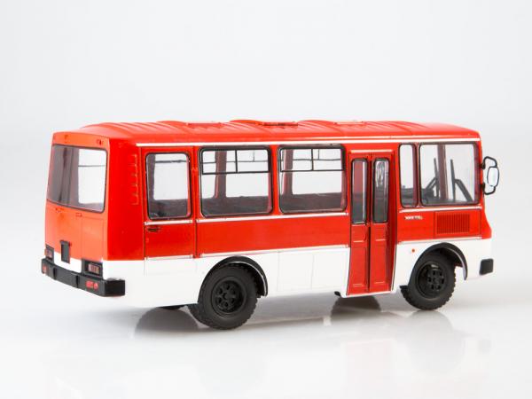 Macheta autobuz PAZ-3205, scara 1:43 1