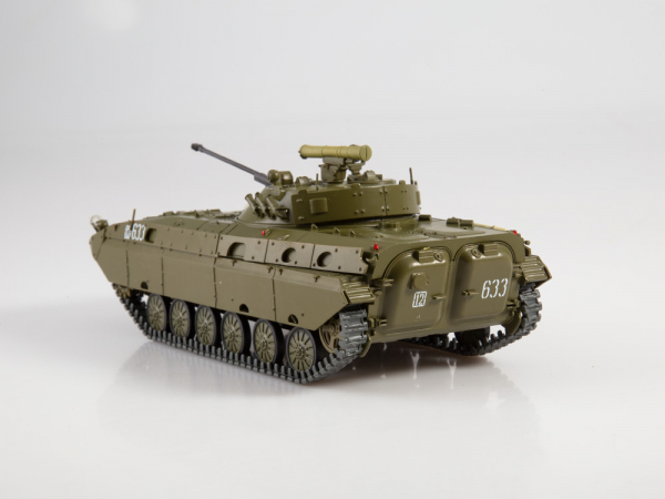 Macheta transportor blindat rusesc BMP-2D, scara 1:43 1