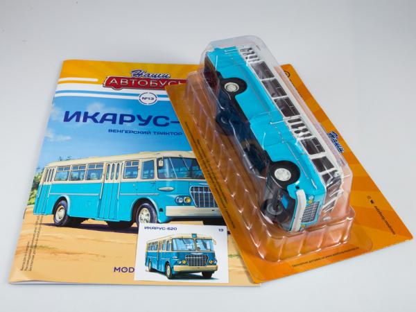 Macheta autobuz Ikarus-620, scara 1:43 6