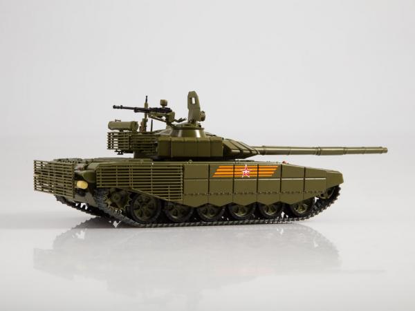 Macheta tanc rusesc T-72B3 2016, scara 1:43 2