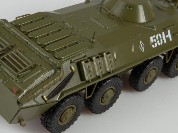 Macheta transportor blindat rusesc BTR-70, scara 1:43 2