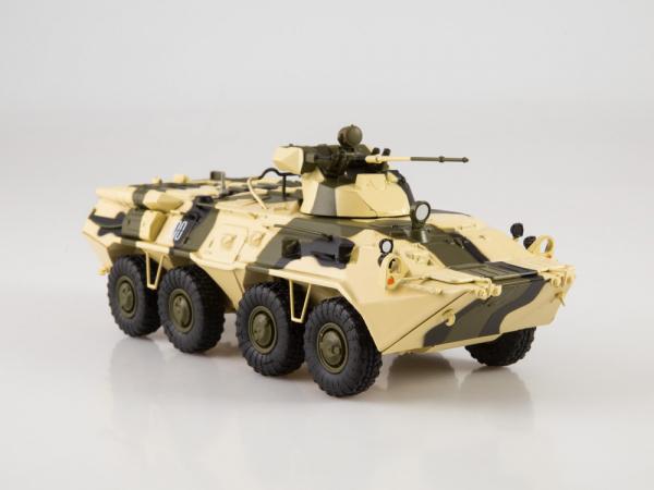 Macheta tanc rusesc BTR-80A, scara 1:43 2