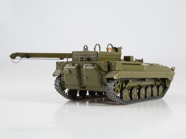Macheta tanc rusesc BREM-2, scara 1:43 1
