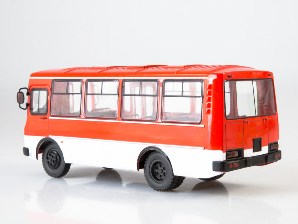 Macheta autobuz PAZ-3205, scara 1:43 2