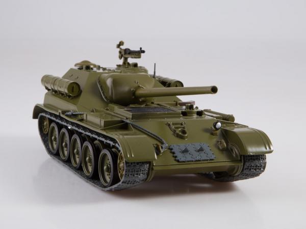 Macheta tanc rusesc SU-101, scara 1:43 1