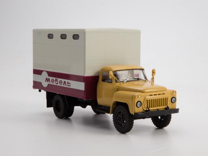 Macheta camion Gaz 52 duba de mobila, scara 1:43 [2]