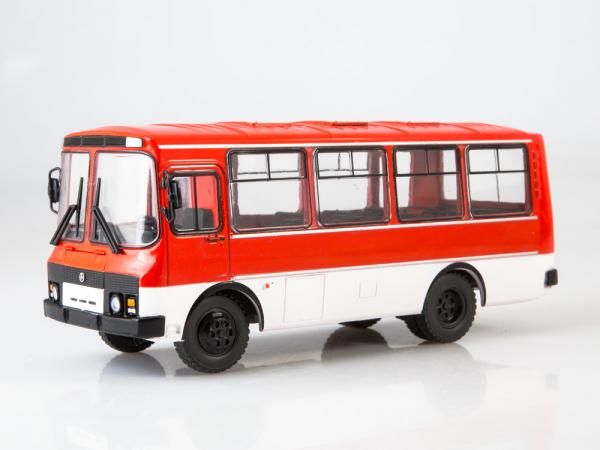 Macheta autobuz PAZ-3205, scara 1:43 3