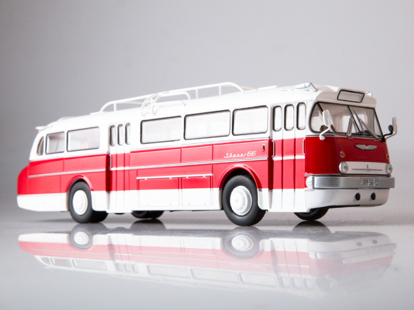 Macheta autobuz Ikarus-66, scara 1:43 3