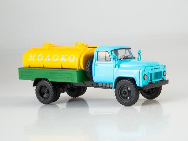 Macheta auto camion cisterna lapte ACPT-3.3 (Gaz 53), scara 1:43 2