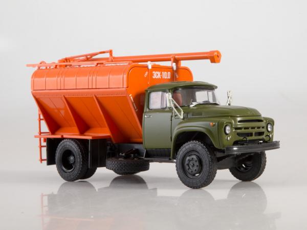 Macheta auto camion transport furaje Zil-130, scara 1:43 2
