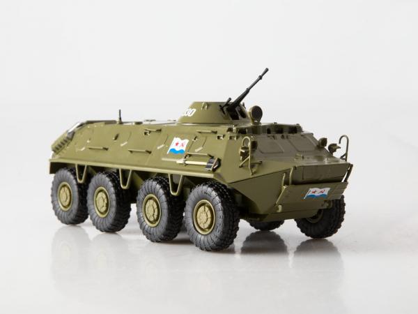 Macheta transportor blindat rusesc BTR-60PB, scara 1:43 [2]