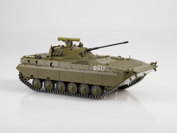 Macheta transportor blindat rusesc BMP-2D, scara 1:43 3