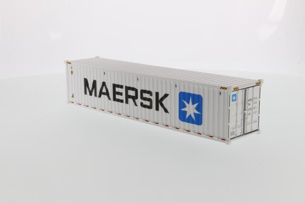 Macheta container de 40 de picoare refrigerat Maersk, scara 1:50 [1]