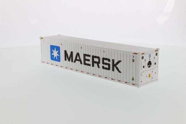 Macheta container de 40 de picoare refrigerat Maersk, scara 1:50 [2]