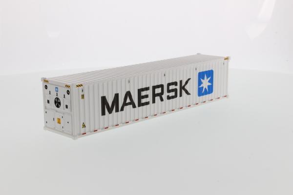 Macheta container de 40 de picoare refrigerat Maersk, scara 1:50 [0]