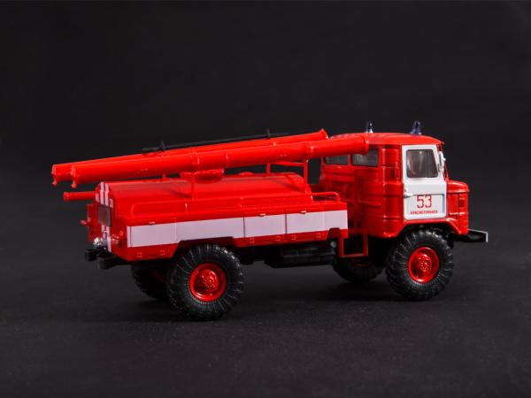 Macheta autospeciala pompieri AC-30 (GAZ 66) scara 1:43 12