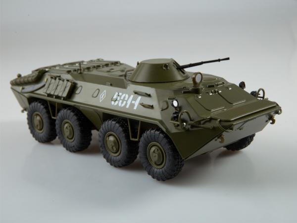 Macheta transportor blindat rusesc BTR-70, scara 1:43 4