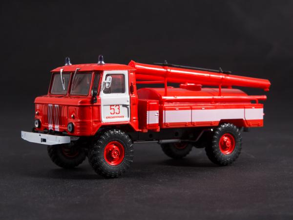 Macheta autospeciala pompieri AC-30 (GAZ 66) scara 1:43 3