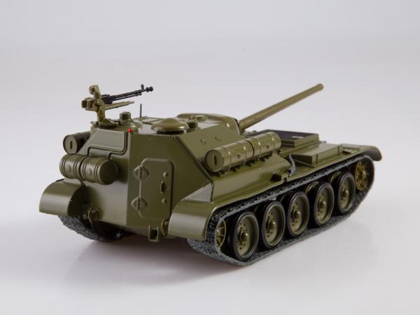 Macheta tanc rusesc SU-101, scara 1:43 2