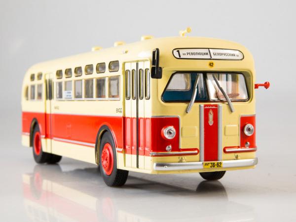 Macheta autobuz ZIS-154, scara 1:43 5
