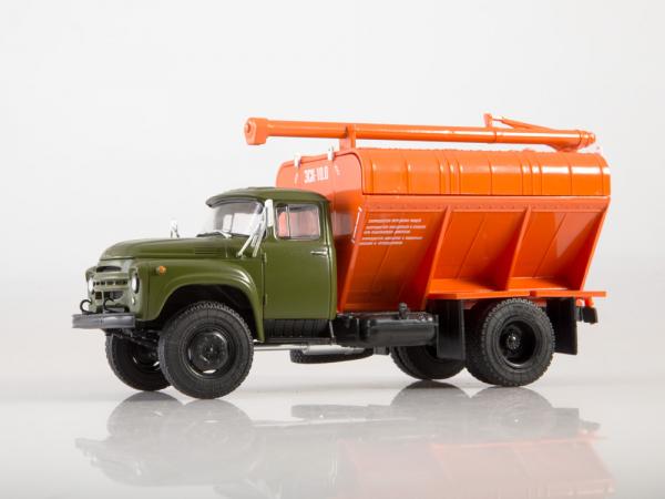 Macheta auto camion transport furaje Zil-130, scara 1:43 4