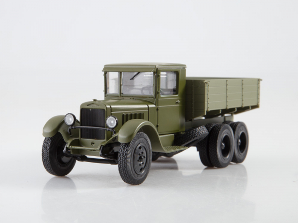 Macheta auto camion Zis-6, scara 1:43 4
