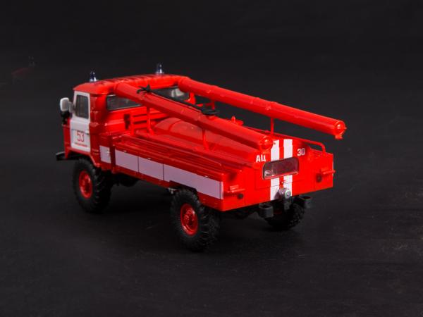 Macheta autospeciala pompieri AC-30 (GAZ 66) scara 1:43 4
