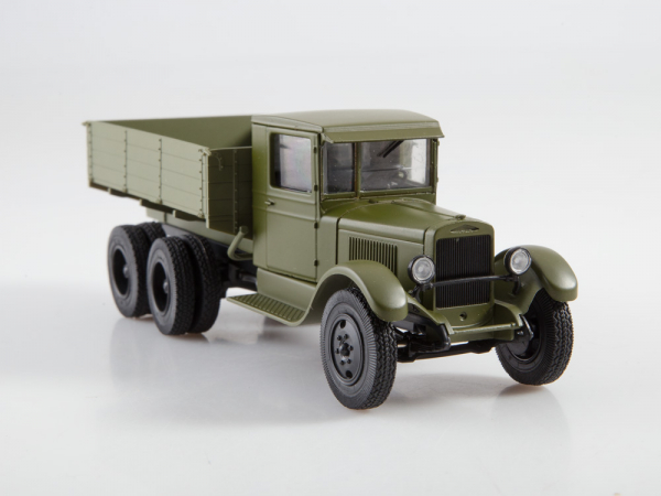 Macheta auto camion Zis-6, scara 1:43 5