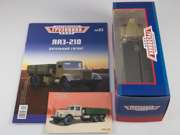 Macheta camion YAAZ 210, scara 1:43 5