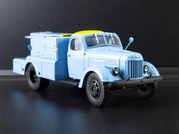 Macheta auto camion demaror avioane APA-35-2 (Zil 164), scara 1:43 5