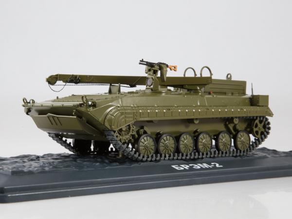 Macheta tanc rusesc BREM-2, scara 1:43 2