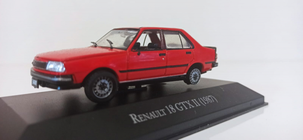 Macheta auto Renault 18 gtx, scara 1:43 - defect 0