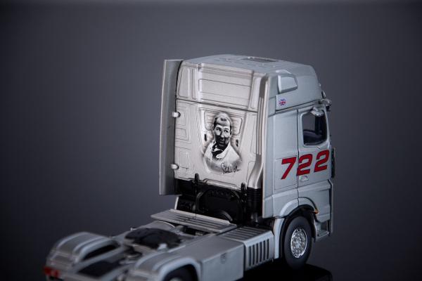 """Macheta cap tractor Mercedes Actros """"722"""", scara 1:50 1"""