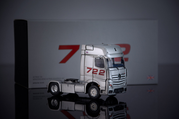 """Macheta cap tractor Mercedes Actros """"722"""", scara 1:50 4"""
