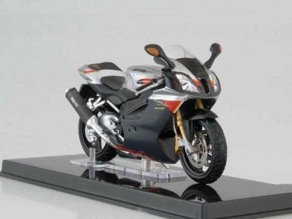 Macheta motocicleta Aprilia RSV 1000R, scara 1:24 0
