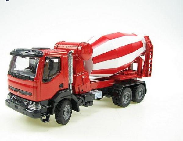 Macheta betoniera Renault Kerax 6x4, scara 1:50 0