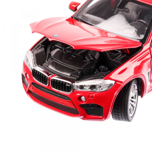 Macheta auto BMW X6M 2018, scara 1:24 3