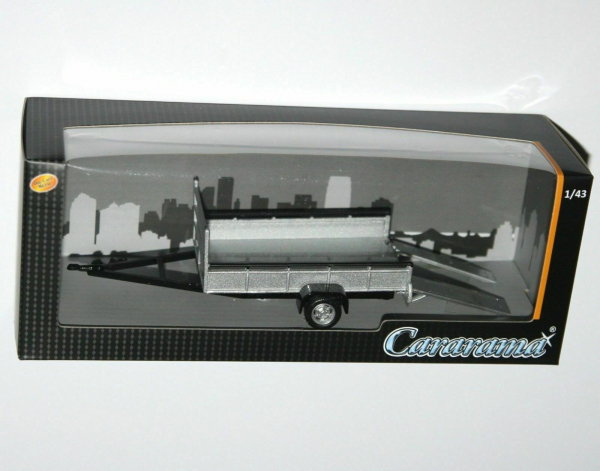 Macheta remorca transport auto/moto, scara 1:43 1