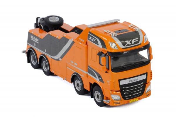 Macheta auto camion depanare Falkom pe sasiu DAF XF SSC, scara 1:50 2