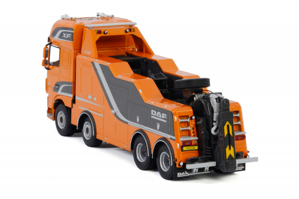 Macheta auto camion depanare Falkom pe sasiu DAF XF SSC, scara 1:50 3