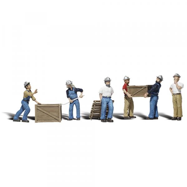 Figurine muncitori in docuri, scara 1:48 [0]