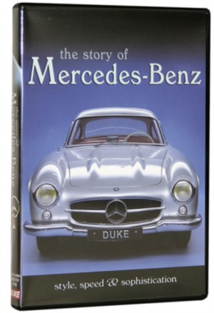 DVD The story of Merceds Benz 0