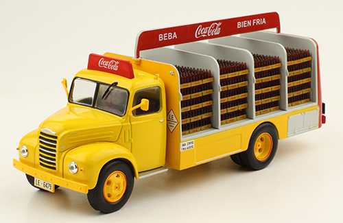 Macheta camion Coca-Cola Ebro B-45, scara 1:43 0